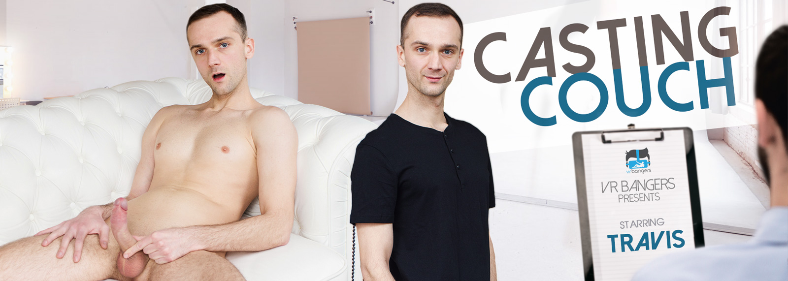 Casting Couch - VR Porn Video, Starring Travis